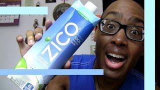 THAT TASTES LIKE (#84)... Zico 100% Natural Coconut Water nasty gross organic yuk - Food Vlog Fun