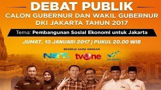 Video Debat Publik 1 – Pilkada DKI Jakarta 2017 download MP3, 3GP, MP4, WEBM, AVI, FLV Agustus 2017