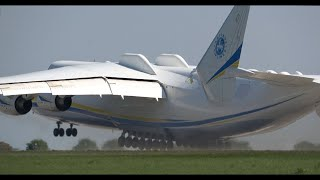 The Takeoff of World's Largest Aircraft That Will Blow Your Mind!