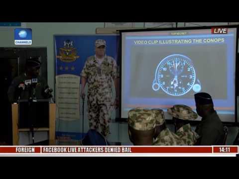 Nigerian Air Force (NAF) Briefing on Fight Against Boko Haram