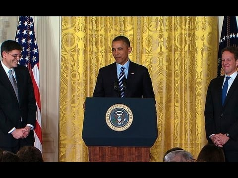 President Obama Nominates Jack Lew for Secretary of the Treasury