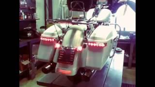 2014 Streetglide With Led Saddlebag Lights By Hamilton Harley Davidson