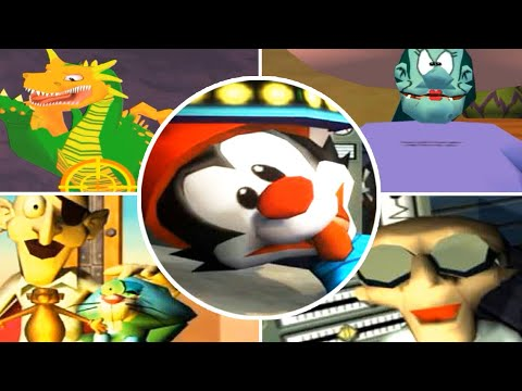 Download Animaniacs: The Great Edgar Hunt All Bosses (PS2, Gamecube)