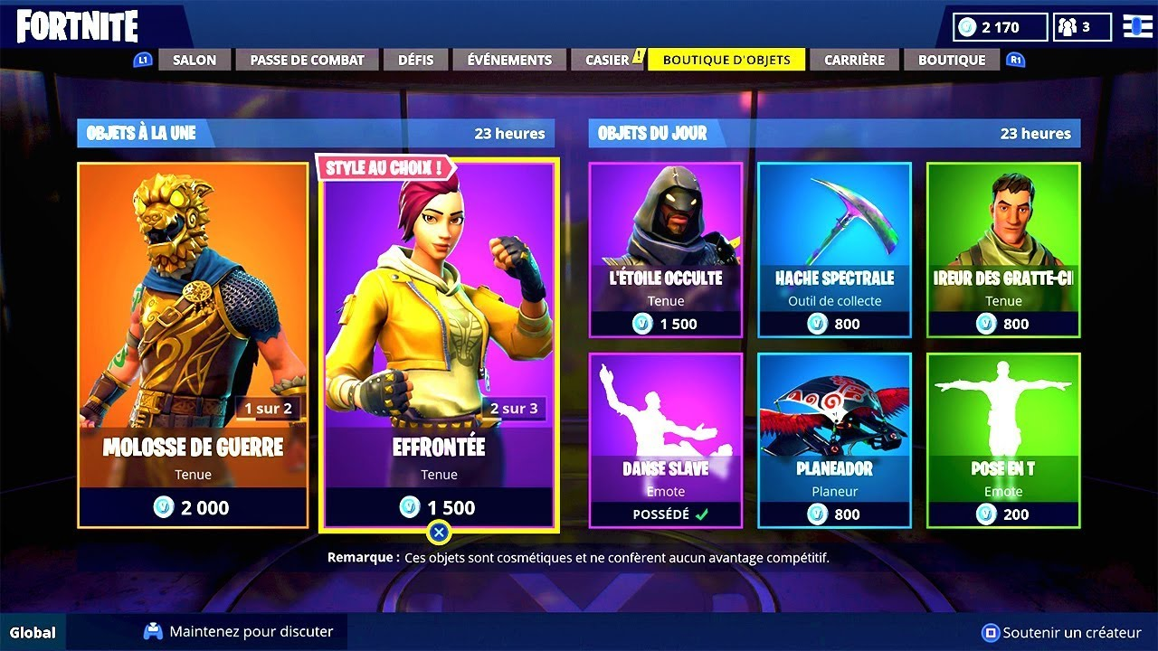 BOUTIQUE FORTNITE du 18 Octobre 2018 ! - ITEM SHOP October 18 2018