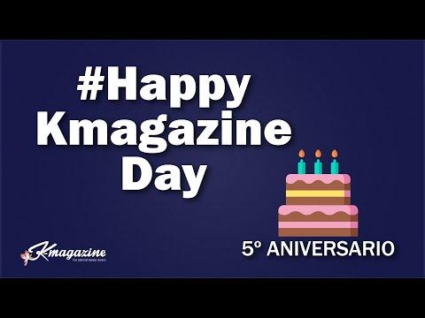#HappyKmagazineDay✨ 5º Aniversario