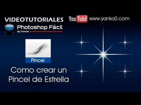 Pincel de Estrella Photoshop by @yanko0