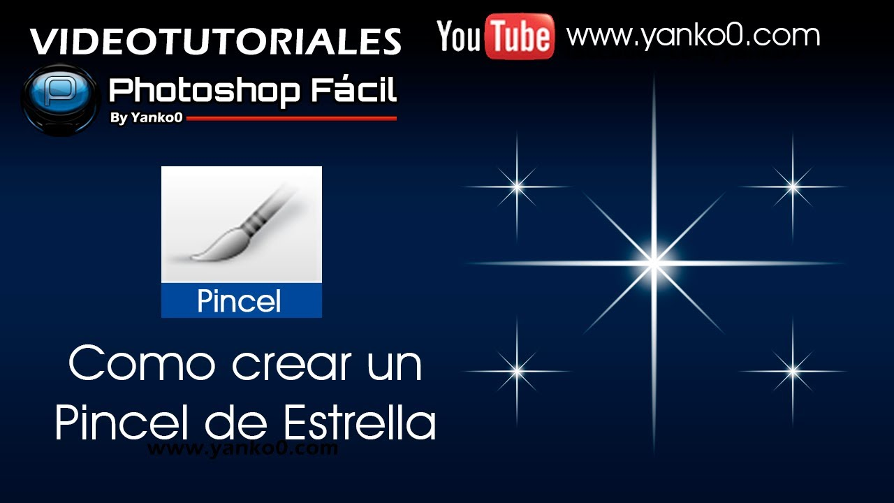 Crear fondo de estrellas con Photoshop CS6 - YouTube