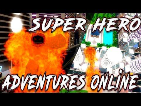 [CODE] SUPER HERO ADVENTURES ONLINE | BEST NEW SUPER HERO GAME | ROBLOX