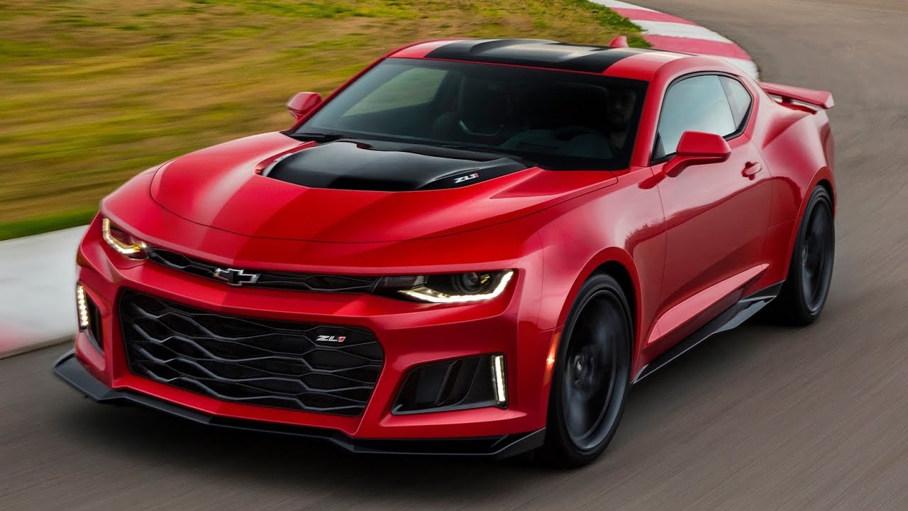 2017 Chevrolet Camaro Zl1 10 Sd Auto First Look And Hot Lap Around Spring Mountain Raceway You