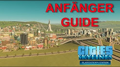 ANFÄNGER TIPPS ☆ Cities Skylines Ps4 Tutorial ☆ 0-2000 Einwohner