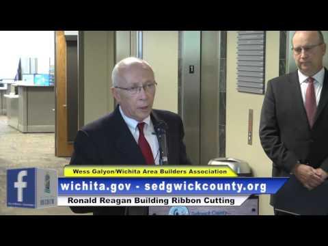City of Wichita - Ronald Reagan Building Ribbon Cutting