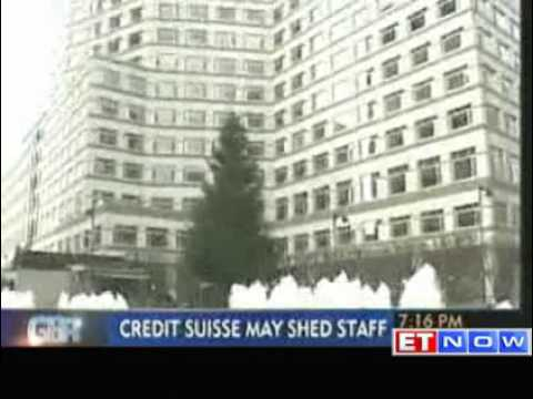 Credit Suisse may cut 5000 jobs in investment banking biz