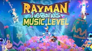 gameplay rayman legends - music level