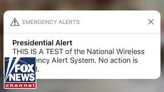 FEMA sends out first 'Presidential Alert' thumbnail