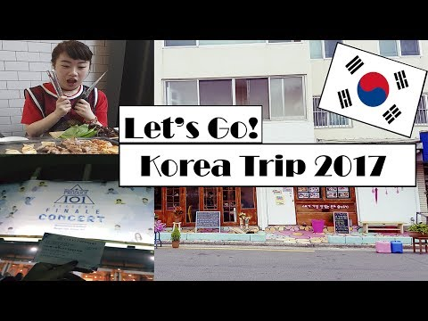 My Trip To South Korea 2017 | Vlog: Produce 101 Concert, Haknyeon noticed me!! Seoul & Busan