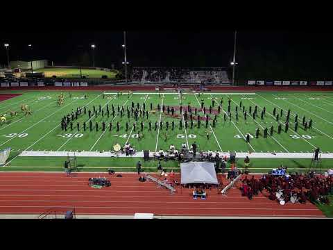 East Hall High School Viking Marching Band 10-20-2017 Half-time Show