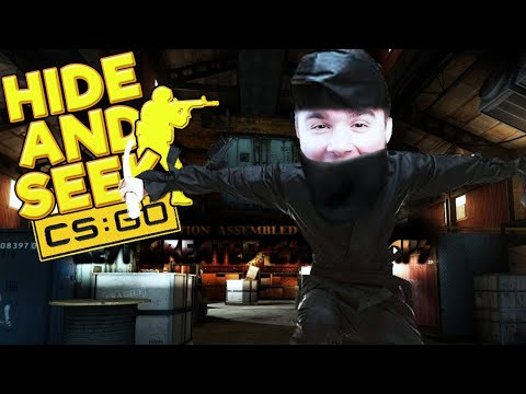 BLADII NAJLEPSZY KRYJÓWKOWICZ NINJA! | CS:GO - HIDE AND SEEK [#4] (With: EKIPA)