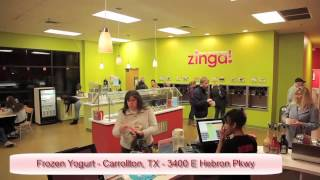 Frozen Yogurt Carrollton TX | Zinga Frozen Yogurt | Carrollton TX Frozen Yogurt Shop(, 2013-09-04T18:34:47.000Z)