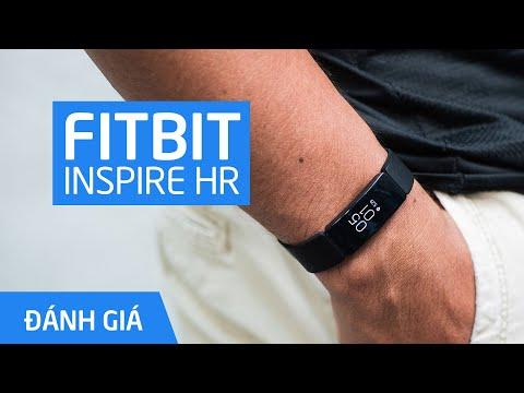 Đánh Giá Vòng đeo Tay Fitbit Inspire HR