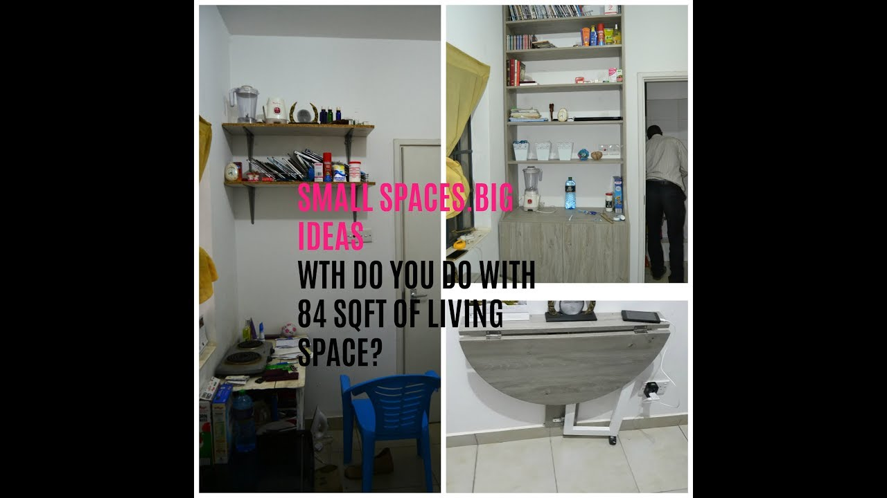 SMALL SPACES. BIG IDEAS| A small space with big style.(Part1) - YouTube
