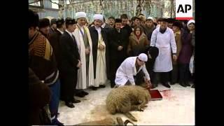 RUSSIA: MOSCOW: ISLAMIC KURBAN-BAIRAM HOLIDAY