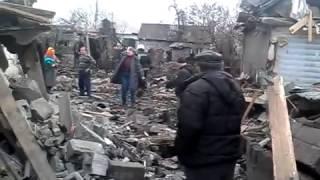 Донецк сегодня  Обстрел Макеевки  4 02 2015