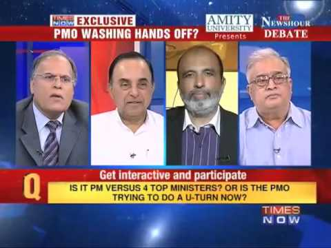 Subramanian Swamy on Big fight over Jet-Etihad deal