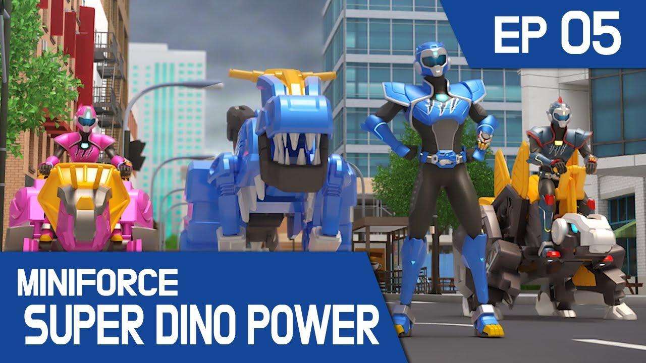 [MINIFORCE Super Dino Power] Ep.05: The Clean Toilet Monster