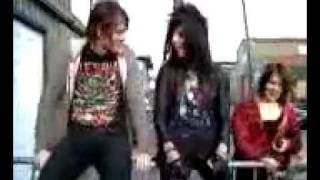Andy Biersack and Matt Good being funny