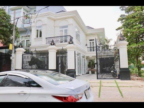 Nhà bán Gò Vấp. 10m x 20m Biệt Thự Kiểu Pháp Nguyễn Oanh thiết kế đẹp tặng nội thất – Biệt thự bán