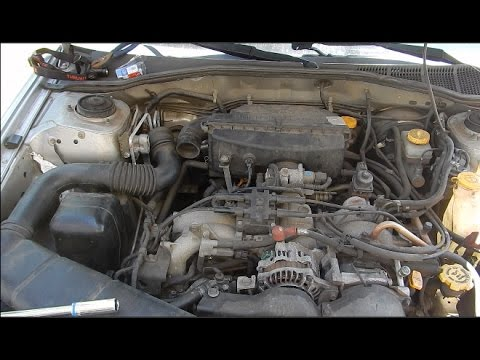 How to change the PCV valve on your Subaru - YouTube