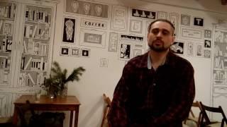 Саша Чёрный, художник компьютерной графики фильма КОЛЫБЕЛЬ