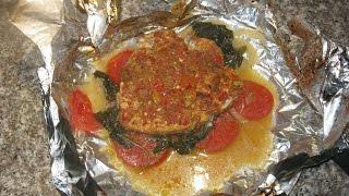 Куриная грудка в фольге с овощами Быстро и вкусно Chicken breast in foil with vegetables صدور الدجاج