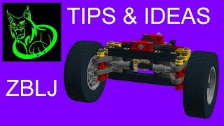 tips ideas lego technic mini portal axle r evolution and more