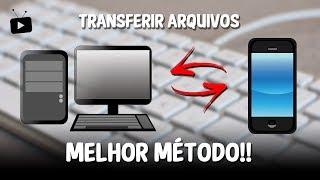 Transferir arquivos entre CELULAR e PC (sem cabo e sem internet)