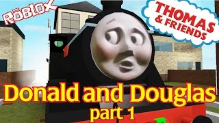 Thomas and Friends Accidents Will Happen : Donald And Douglas | Roblox Remake