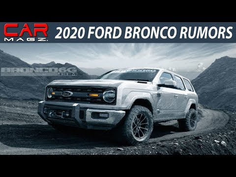 2020 Ford Bronco Concept and Release Date