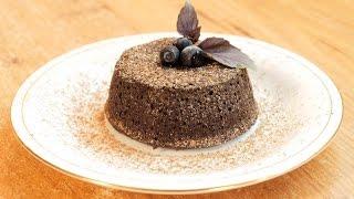 Французский десерт Шоколадный фондан (флан) / Chocolate flan (lava cake) ♡ English subtitles