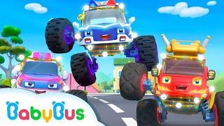 Mobil Monster Jahat Sedang Mencuri Lampu | Lagu Anak-anak | BabyBus Bahasa Indonesia