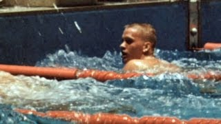 Don Schollander - First To Win Multiple Swimming Golds - Tokyo 1964 Olympics