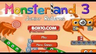 Monsterland 3: Junior Returns let's play (full game) walkthrough gameplay playthrough