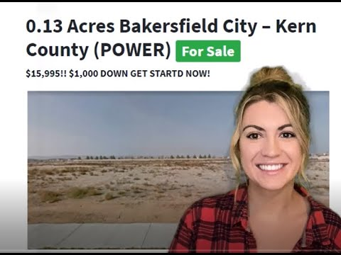 0.13 Acres Cheap Land Property for sale in Bakersfield City, Kern County, California