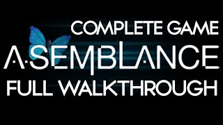 Asemblance Complete Game Full Walkthrough Ending LetsPlay Indie Game  | PS4 | PC