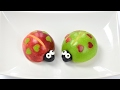 Valentines Fun Food: Apple Love Bugs