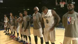 NBA Africa Game 2017: Team World and Team Africa Introductions