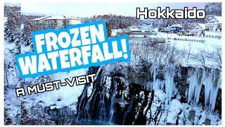 MAGNIFICENT SHIRAHIGE WATERFALL! See Japan's Northernmost Prefecture! Biei, Hokkaido