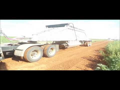 2005 Pack Mule BDT-40 bottom dump trailer for sale | no-reserve Internet auction September 29, 2016