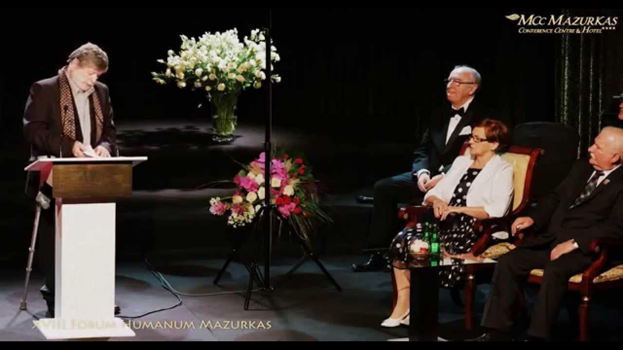 XVIII FH Mazurkas - ambasador Izraela profesor Szewach Weiss Lechowi Wałęsie