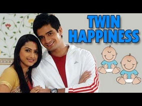 TWIN HAPPINESS for Rashi and Jigar in Saath Nibhana Saathiya 19th March 2013