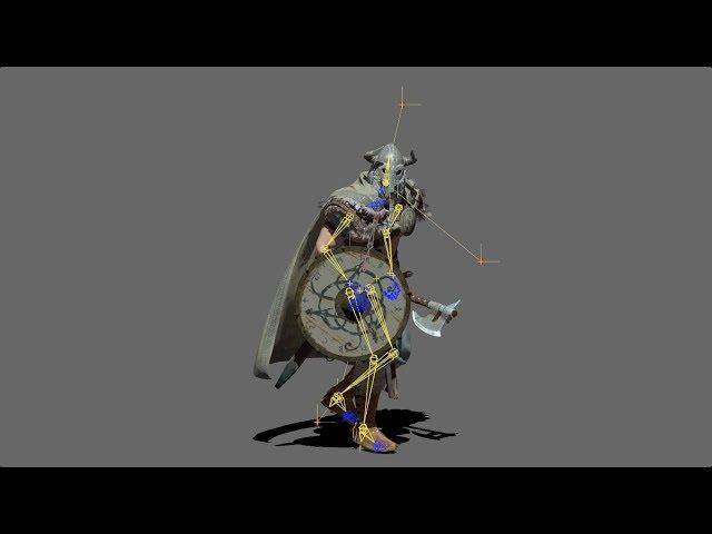 Viking Animation Test